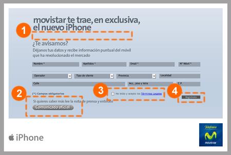 Microsite iPhone movistar